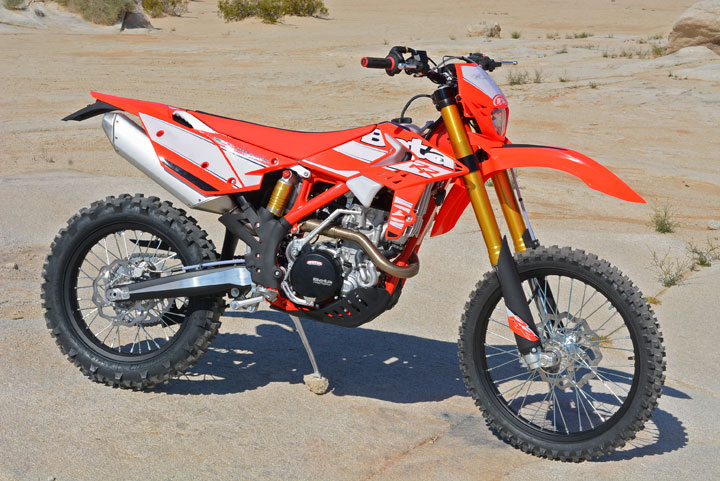 The Beta 350 RR is a beautiful dirtbike from every angle.