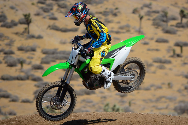 Despite a host of changes to the engine, the KX250F's power is still concentrated in the mid-range. A larger rear sprocket and ECU coupler change can helped our test unit to be all it could be.