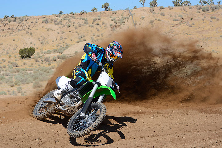 Kawasaki gave the KX250F a new engine and a new chassis for 2017. The result is a bike that feels faster, smaller and lighter than the 2016 KX250F.