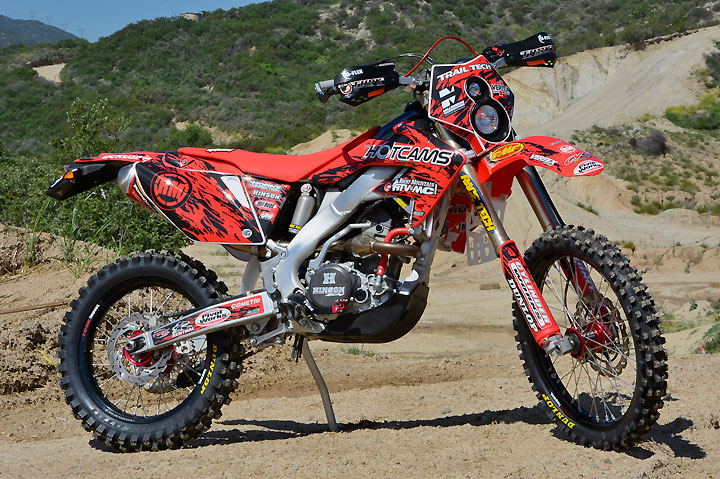 The starting point for the CRF2506X project was a 2004 Honda CRF250R that was picked up for a paltry $1200.