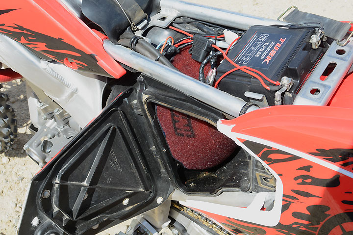 The key to pulling more power out of the engine really lies in proper airbox mods. The video below shows how that is done.