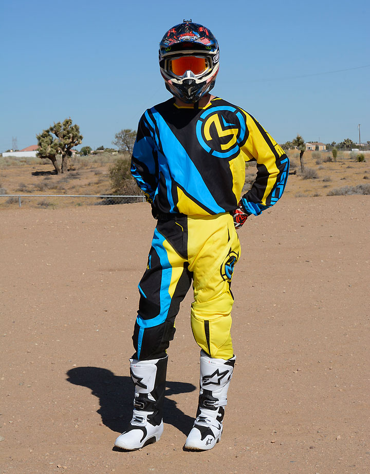 Moose Racing's M1 riding gear line offers good looks and durability to match.