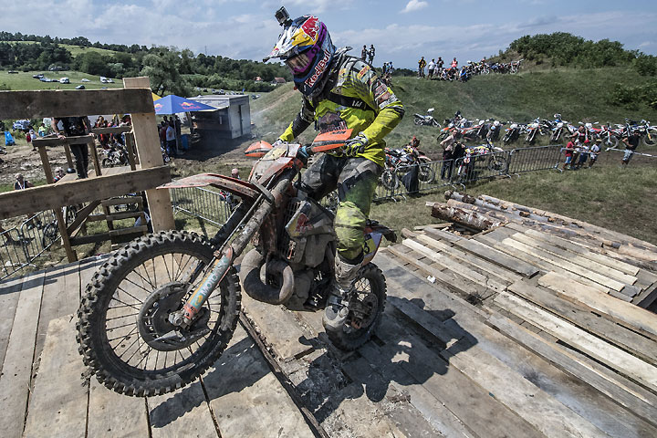 Alfredo Gomez had a solid week in the Red Bull Romaniacs, bringing home second overall. PHOTO COURTESY OF RED BULL CONTENT POOL.