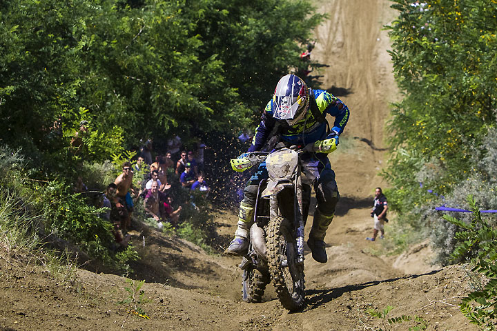 Wade Young rode his Sherco 250 to the final day win and slipped into third overall at the 2016 Red Bull Romaniacs. PHOTO COURTESY OF RED BULL CONTENT POOL.