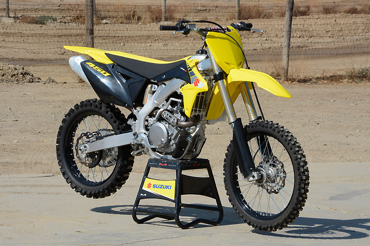 The Suzuki RM-Z450 last underwent a major revision in 2013. The good news is that the platform still works amazingly well and its $8749 MSRP hasn't changed in three years.