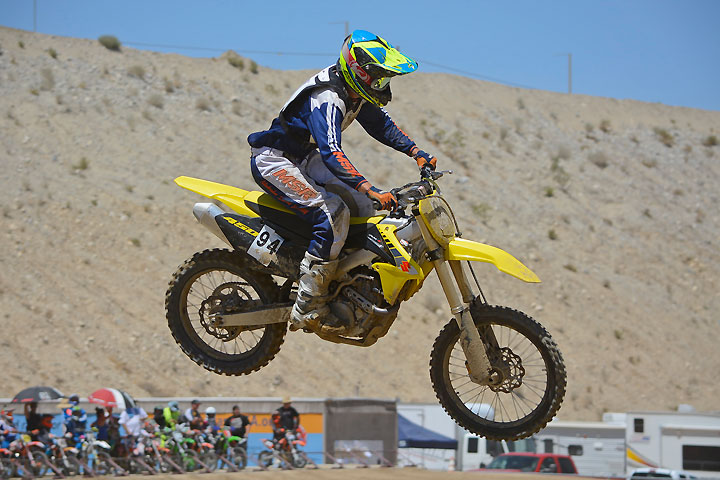 DirtBikes.com test rider Nic Garvin puts the 2017 Suzuki RM-Z450 to the test at the District 37 SoCal MX Series finale at LACR in Palmdale, California. Despite being virtually unchanged in four years, the RM-Z450 still has what it takes to be competitive in the 450cc motocross class.