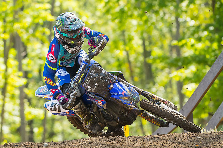 Justin Barcia enjoyed his best weekend of the season, going 2-2 for second overall at Ironman Raceway. PHOTO BY RICH SHEPHERD.