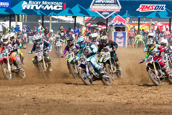 first titles decided at ama amateur national mx championship
