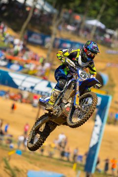 Justin Barcia put together a strong day at Budds Creek, going 3-3 for second overall.