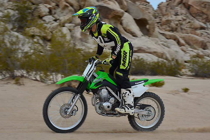 Ride Review: 2017 Kawasaki KLX140G