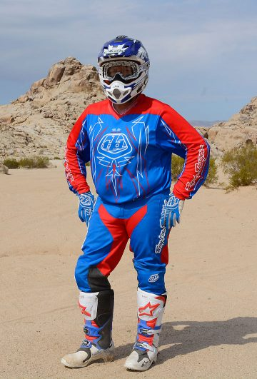 Troy Lee Designs GP Pinstripe gear offers hot rod styling and very good comfort at reasonable pricing. It is part of a vast collection of TLD GP gear that features a wild variety of color schemes.