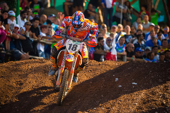 Jeffrey Herlings was the top indivudual rider of the 2016 MXoN, helping Team Netherlands to a runner-up finish PHOTO BY JEFF KARDAS.