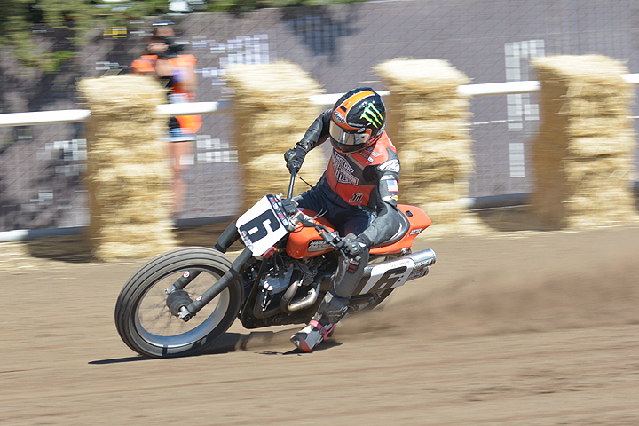 Brad Baker won the season finale Ramspur Winery Santa Rosa Mile. The factory Harley rider has been named as one of three new factory riders for rival brand Indian in 2017.