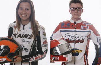 Charlotte Kainz (left); Kyle McGrane (right). PHOTOS COURTESY OF AMA PRO RACING.