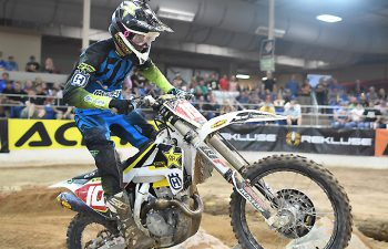 Colton Haaker picked up some more momentum with a win at the Phoenix EnduroCross. Haaker now leads defending champion Cody Webb by seven points in the series standings. PHOTO BY BOULDER-MOTO.
