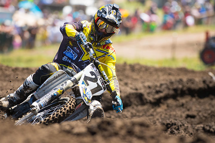 Rockstar Energy Husqvarna's Jason Anderson will represent Team USA and will be one of eight Husqvarna riders contesting the 2016 Motocross of Nations. PHOTO COURTESY OF HUSQVARNA MOTORCYCLES GmbH.