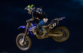 Cooper Webb came to Charlotte and left with his first career FIM MX2 overall win. Webb went 2-1. PHOTO BY JEFF KARDAS.