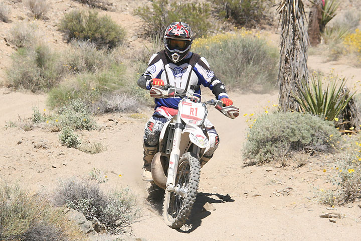 Cordis Brooks won the 60+ class. The desert racing veteran is trying to bring home series titles in both the West HS and National Hare & Hound series in 2016.