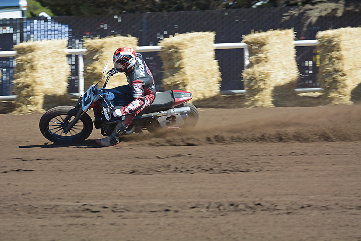 Joe Kopp was a big part of the Indian Scout FTR750 testing program earlier this summer. Kopp and Carr have never agreed on much, but both feel that the Indian represents an exciting prospect for the future of the sport. PHOTO BY SCOTT ROUSSEAU.
