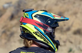 Mounted to the back of test rider Nic Garvin's helmet, the LITPro is a serious piece of equipment that can analyze your riding in multiple ways to help you make the most of it.