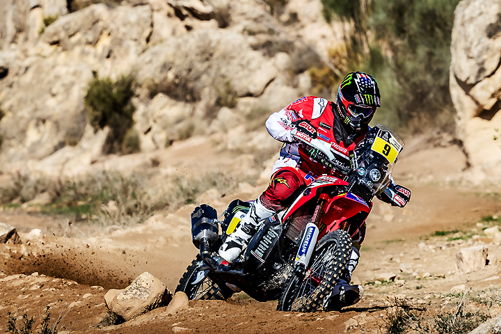 Of course, American rally star Ricky Brabec made our list! PHOTOGRAPHY BY MONSTER ENERGY HONDA TEAM.