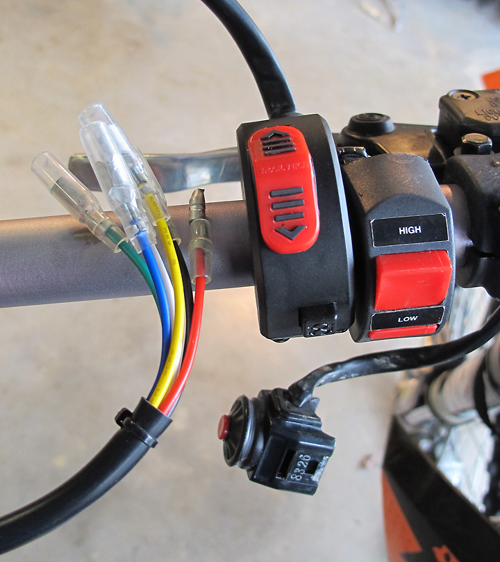 GRIP HEATER 3 POSITION SWITCH