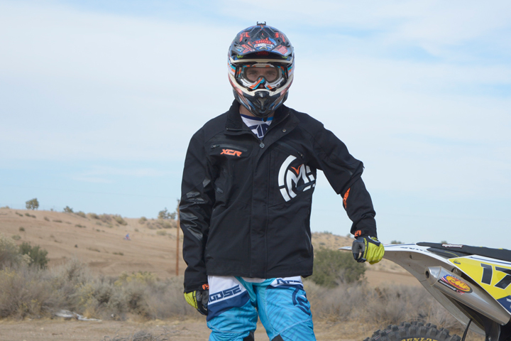 Moose Racing's XCR jacket is a highly functional all-weather jacket designed with input from eight-time AMA National Enduro Champion Dick Burleson. At $249.95, it packs a lot of value per dollar.