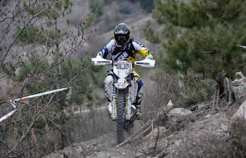 The immortal Graham Jarvis got his 2017 Extreme Enduro campaign off to a great start by scoring the first Ales Trem Extreme Enduro win of his career. PHOTO COURTESY OF HUSQVARNA MOTORCYCLES GmbH.