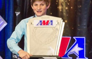 Team Green amateur motocross racer Jett Reynolds picked up the AMA's prestigious Youth Racer of the Year award for the second straight year.