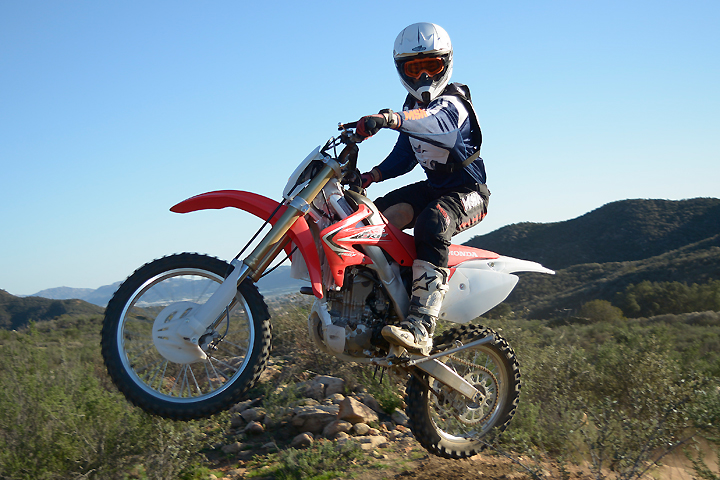 honda crfx review dirt bikes