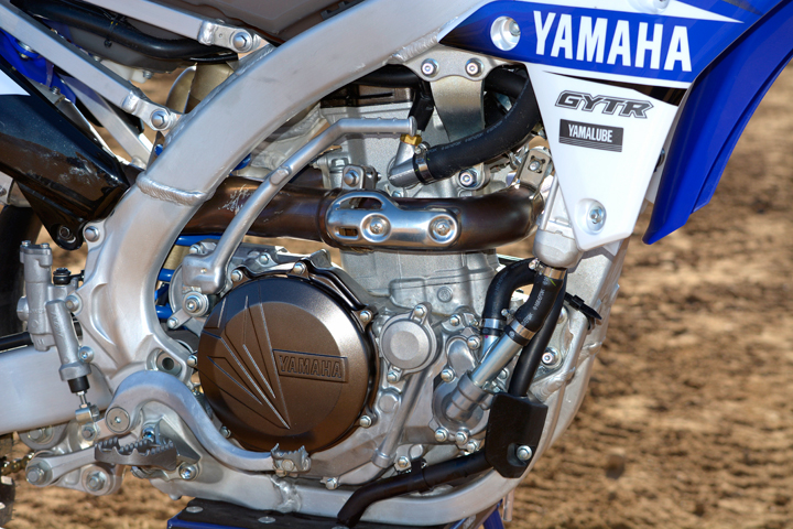 The Yamaha's DOHC engine is the class leader when it comes to torque, 33.3 lb.-ft. at 8000 rpm. Peak horsepower is 53.3 at 9300 rpm.