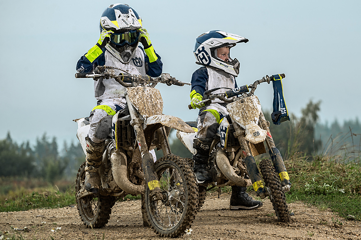 Husqvarna Introduces New Youth Riding Gear Dirt Bikes