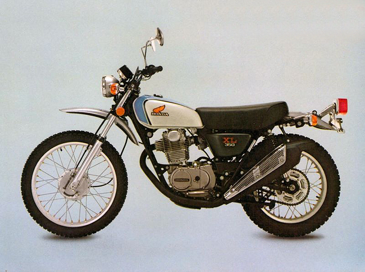 In 1974, Honda Upped The Ante In The Dual Sport Category (back Then They  Were Just Called U201cendurosu201d) By Introducing The XL350. The Machine Was Such  A Hit ...