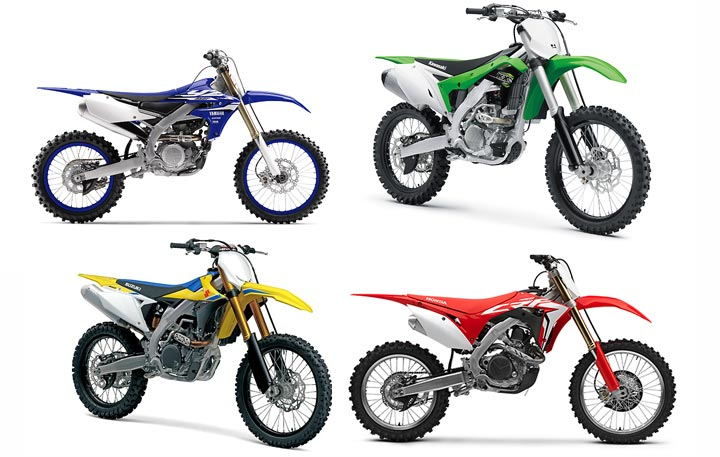 2018 suzuki motocross bikes.  suzuki both yamaha and suzuki have rolled out allnew 450s save for its signature  rearward inclined engine configuration the 2018 yz450f is practically nothing  and suzuki motocross bikes r