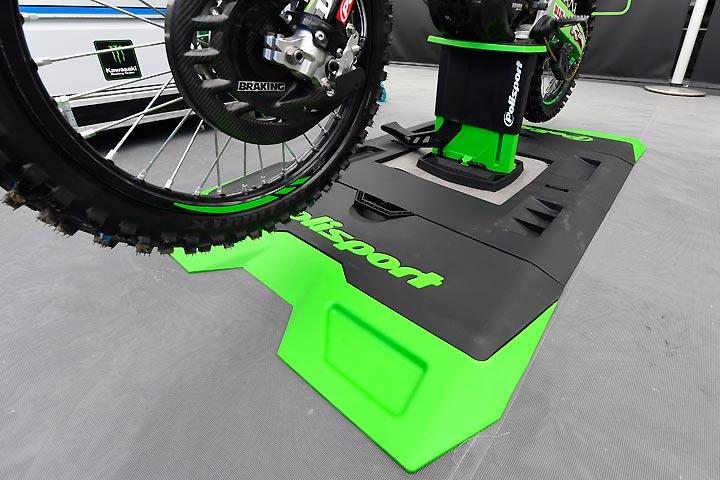 Polisport Foldable Lift Bike Stand Park Place Dirt Bikes