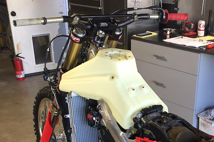 2017 18 ims products honda crf450rx fuel tank review for 2017 honda civic gas tank size
