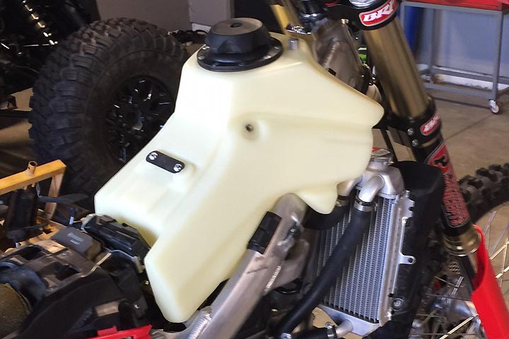 ims products honda crfrx fuel tank review dirt bikes