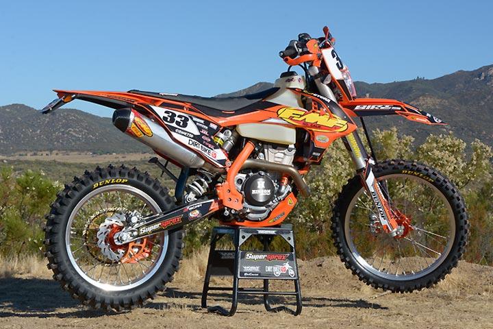 FMF KTM 350 EXC-F Project Dual Sport - Dirt Bikes