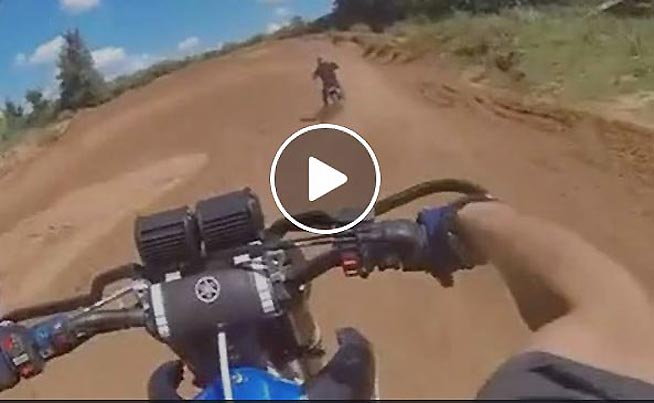 Dirt Bikes Videos >> Dirtbike Video Hysterical Laughter After Missing A Turn