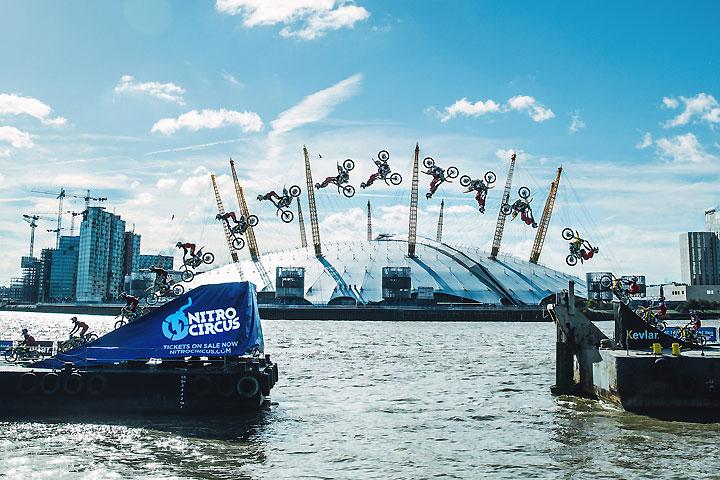 Pastrana barge jump