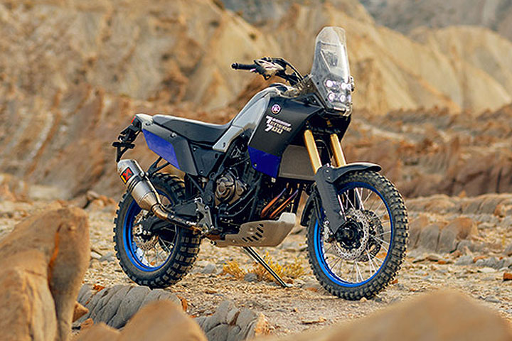 Yamaha reveals t n r 700 world raid at eicma dirt bikes for Yamaha tenere 700