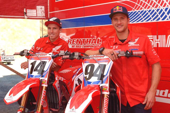 2018 Ama Supercross Preview Team Honda Hrc And Geico Honda Dirt Bikes