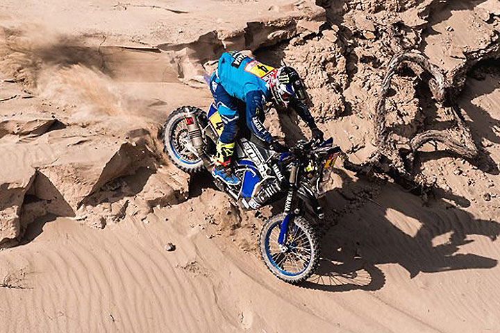 Hero MotoSports' Mena, Santosh 27th & 28th at Dakar Rally