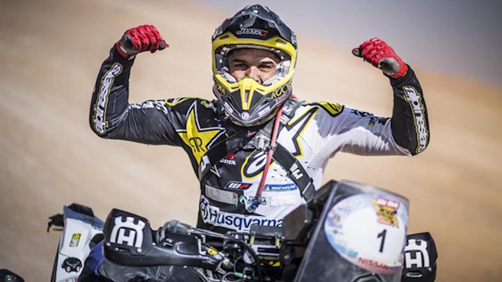 Pablo Quintanilla Abu Dhabi Desert Challenge