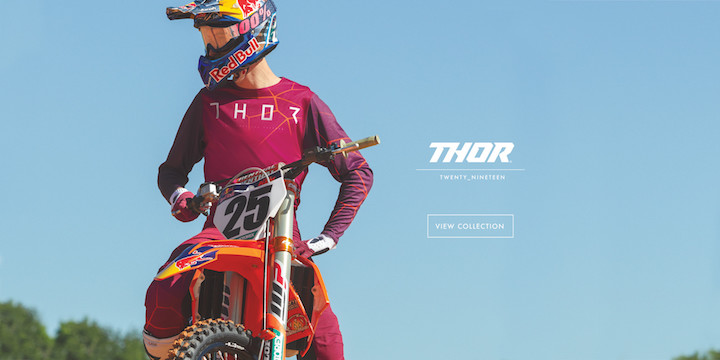 Beta Dirt Bikes >> THOR MX Launches 2019 Collection