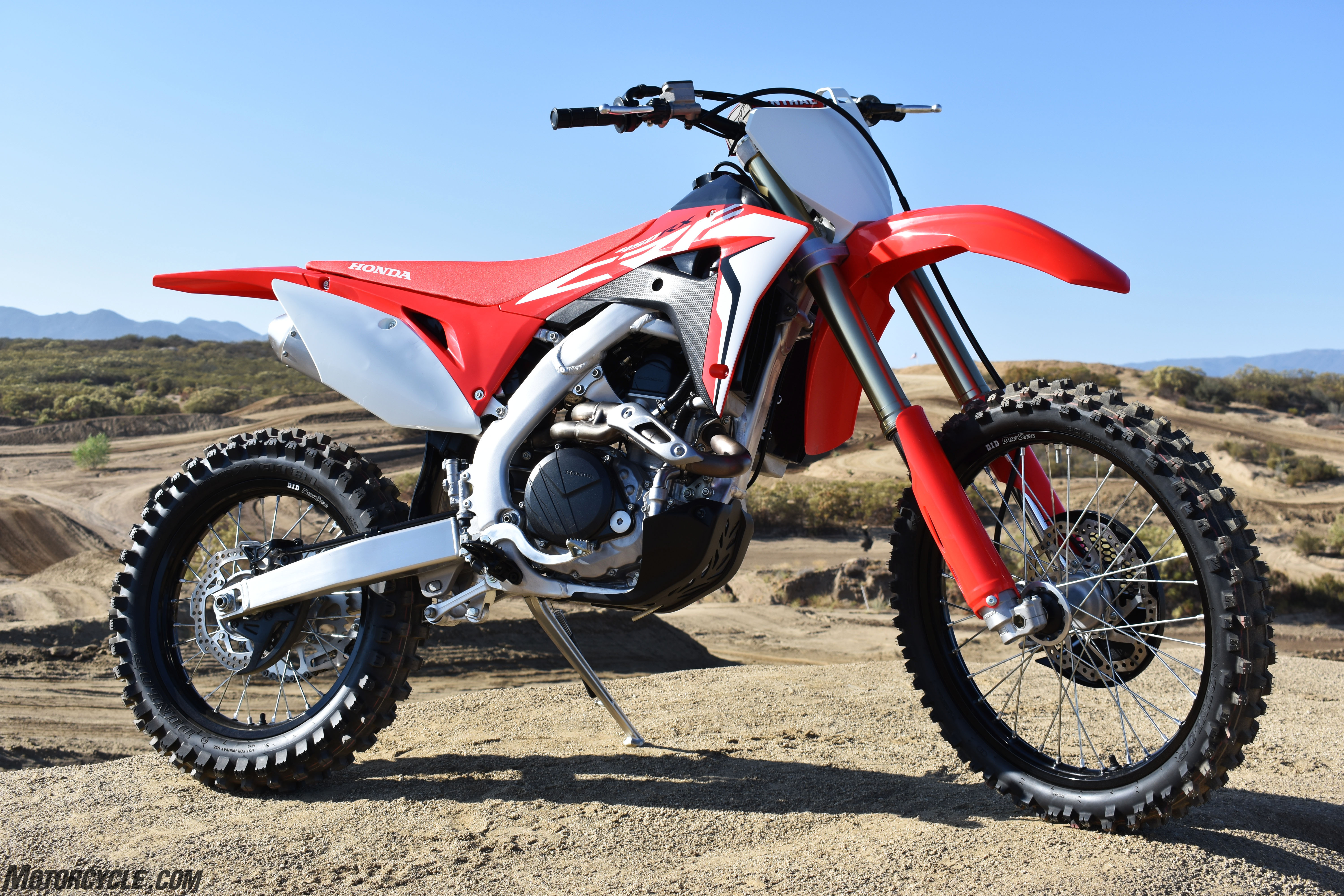 honda crfrx review dirt bikes  ride