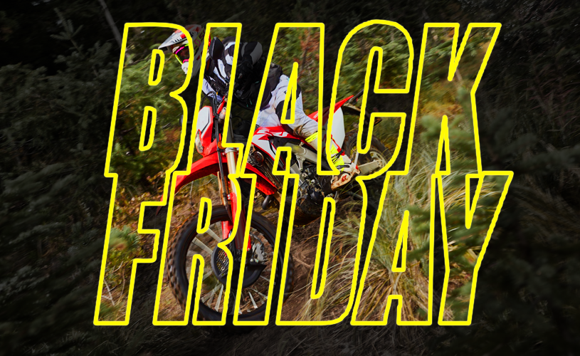 The Best Black Friday Deals for Dirt Bikes