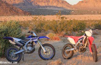 Honda CRF250RX vs Yamaha YZ250FX