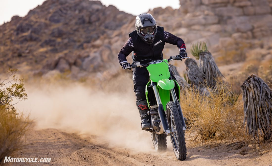 Kawasaki KX250X Review