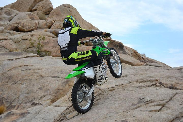 Ride Review: 2017 Kawasaki KLX140G